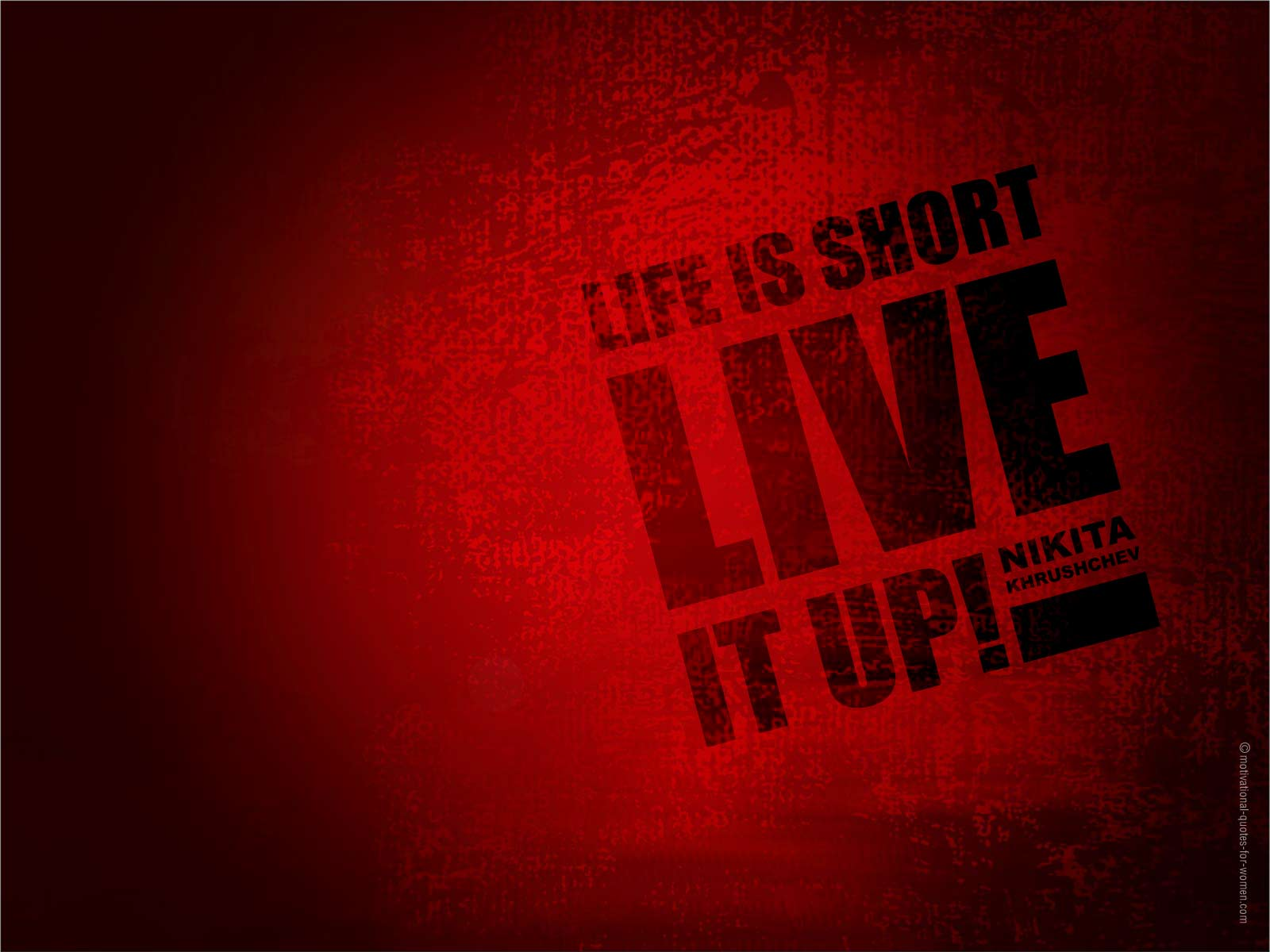 life is short live it quotes